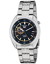Seiko 5 Sports Black Dial Stainless Steel Automatic Men's Watch (SSA067)