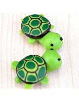 FD2148 Green Turtle Miniature Dollouse Garden Craft Fairy Bonsai Plant Decor X1