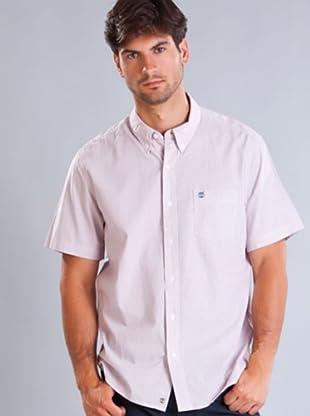 Timberland Camisa (Blanco / Rojo)