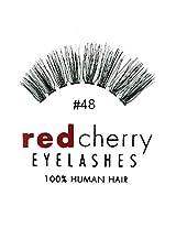 Red Cherry False Eyelashes #48 (Pack of 3)