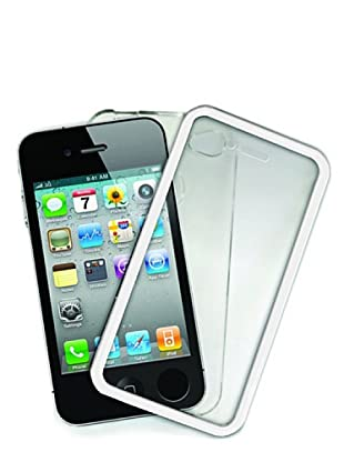 Blautel iPhone 4/4S Carcasa Protectora Touch Screen Blanco
