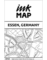 Essen (Germany) Inkmap - maps for eReaders, sightseeing, museums, going out, hotels (English)