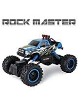 Rock Crawler RC Car - 4x4 Remote Control Car For Kids - 1/14 Rock Master Rock Crawler with 2.4Ghz Controller By ThinkGizmos åš