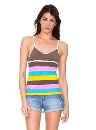 Mala Mujer Camiseta Alexia (Marrón)