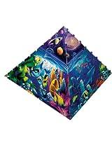 300 Piece Worlds of Wonder Pyramid Puzzle Art by David Miller
