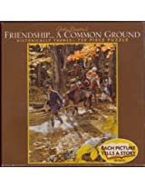 """John Buxtons Friendship ... A Common Ground * 750 Piece Puzzle 18"""" X 24"""" By Ceaco"""