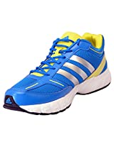 Adidas Men's Arina Blue and Silver Running Shoes - UK 11