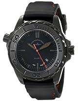 Zeno Men's 6603Q-BK-A1 Divers Analog Display Quartz Black Watch