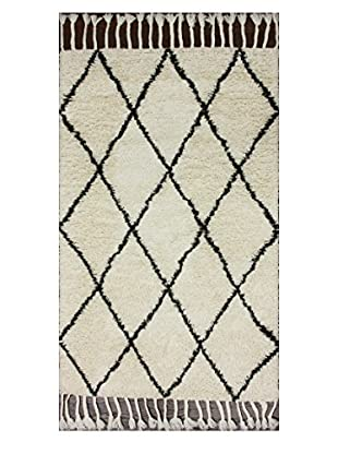 nuLOOM Hand Knotted Fez Shag Rug