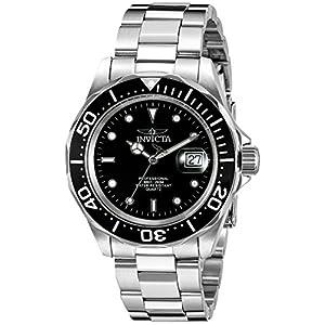 Invicta Pro-Diver Analog Black Dial Men's Watch - 9307