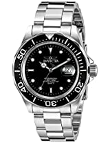Invicta Pro-Diver Analog Black Dial Men's Watch - 9307