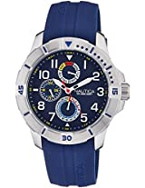 Nautica Sports Chronograph Navy Dial Men's Watch - NAI12505G