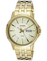 Citizen Analog Gold Dial Men's Watch - BF2012-59P
