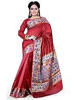 Asavari Paudi Weaved Art Silk Banarasi Saree