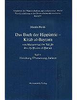 Das Buch der Hippiatrie - Kitab Al-baytara: Von Muhammad Ibn Ya'qub Ibn Ahi Hizam Al-huttali (Veroffentlichungen Der Orientalischen Kommission (Vok) ... Der Wissenschaften Und Der Literatur, Mainz)