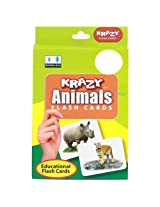 Krazy Animals Mini Flash Cards