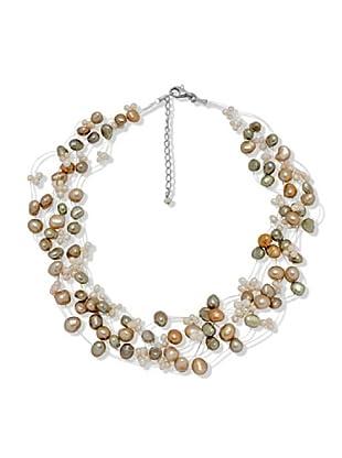 Nova Pearls Copenhagen Collar de Perla De Agua Dulce 3,5 - 5,5 mm