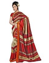 Kothari Printed Saree (KT0105MC_Red)