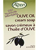 Alpen Secrets Olive Oil Cream Soap, 5-Ounce (Pack of 24)