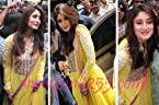Kareena Kapoor Yellow Anarkali Suit - LMMBW37