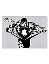 """Supermac - Vinyl Macbook Decal for Macbook Pro 17"""""""