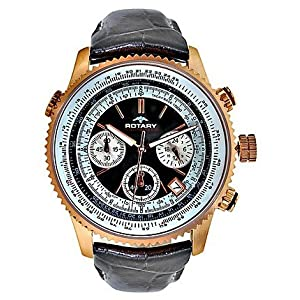 Rotary GS0010104 Black Chronograph Men Watch
