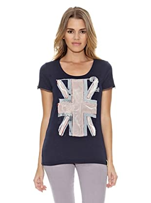 US Polo Assn Camiseta 2English Flag (Azul Oscuro)