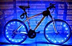 Bicycle Glow Cycle Wheel Valve Spoke LED Light Lamp Flashing Strong Reflector Bike Safe Riding Night WaterProof