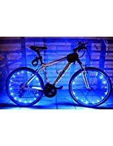 Bicycle Glow Cycle Wheel Valve Spoke LED Light Lamp Flashing Strong Reflector Bike Safe Riding Night WaterProof