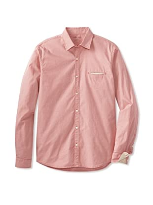 Color Siete Men's Murray Mini Checked Shirt (Chester Brown)