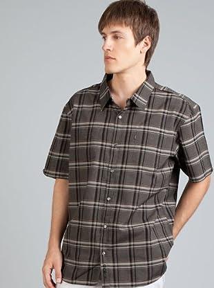 Billabong Camisa Cuadros (Gris / Negro)