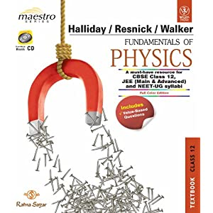 Fundamentals Of Physics, Textbook & Practice Book, Class 12 (Set Of Two Book)