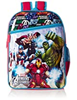 Avengers Red and Blue Children's Backpack (MBE-WDP0378)