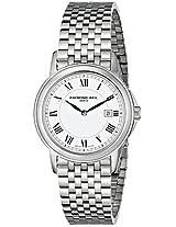 Raymond Weil Women's 5966-ST-00300 Tradition Analog Display Swiss Quartz Silver Watch
