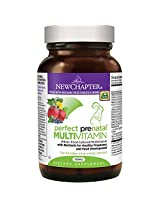 New Chapter Perfect Prenatal Multivitamin Trimester , 270 Tablets, Packaging May Vary