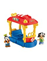 Fisher-Price Little People Disney Jolly Trolley