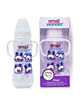 Small Wonder Clear Baby Feeding Bottle 250 ml