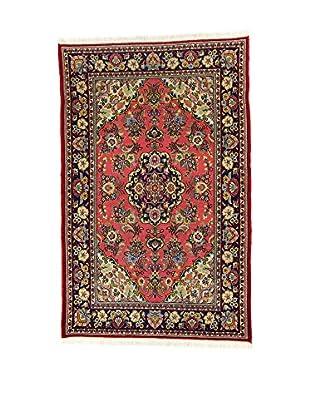 L'Eden del Tappeto Teppich Qom mehrfarbig 205t x t123 cm