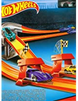 Hotwheel Turbo Race Set, Multi Color