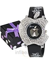 Geneva Ladies Black Watch (GAB-Black)