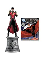 DC Chess Figure & Collector Magazine #20 Red Robin White Knight