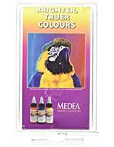Iwata-Medea Com-Art Color Kit, Kit E Transparent Primary