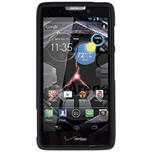 Speck Products SPK-A1539 Fitted Case for Motorola Droid RAZR HD - 1 Pack - Retail Packaging - Black