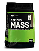 Optimum Nutrition Serious Mass, No Sugar Added - 12 lbs (Chocolate)