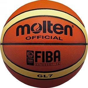 【クリックでお店のこの商品のページへ】molten(モルテン) GIUGIAROジウジアーロ バスケット7号球 BGL7