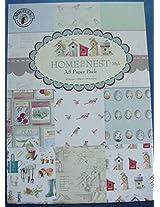Scrapbook & Craft Paper - Home to Nest (A5 paper)