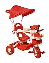 Sarthi Tricycles Bajaj Cyclehood Red Kids Tri Cycle (Red)