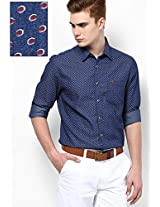 Blue Casual Shirt Peter England