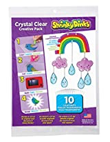Shrinky Dinks Crystal Clear 10 Sheet Creative Pack