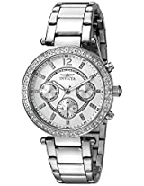 Invicta Women's 21386 Angel Analog Display Swiss Quartz Silver Watch